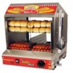 We rent you our hot dog cooker machine so that your guests can enjoy a delicious hot dog at your party