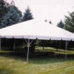 Party tent can be rented at A1 Economy Party Rental 20 x 40