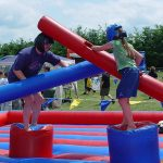 We have all the inflatable games you want at A1 Economy Party Rental